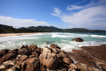 Lopes Mendes beach in the beautiful island of ilha grande