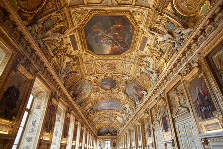 Apollo gallery in the Louvre museum