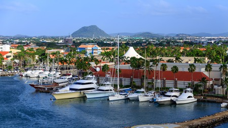 Yacht Harbor On Aruba