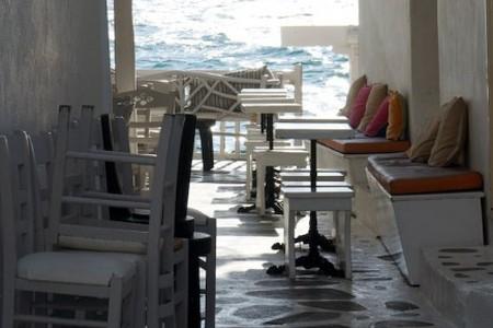 A Side Street of Little Venice, Mykonos