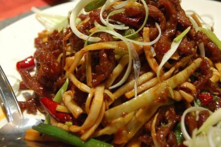 Bamboo w/ Beef [Sichuan Gourmet]