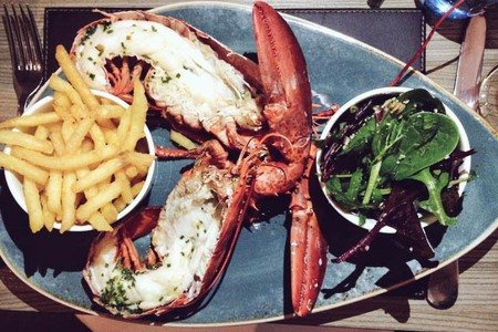 Lobster Restaurants In London