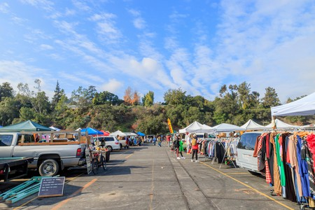 The Rose Bowl Flea Market S Vendors A Variety Of Items