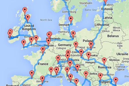 This Hilarious Map Shows 20 Ways to Break Europe Apart
