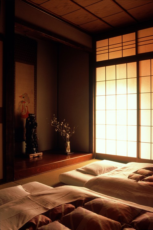 Interior of ryokan Japan