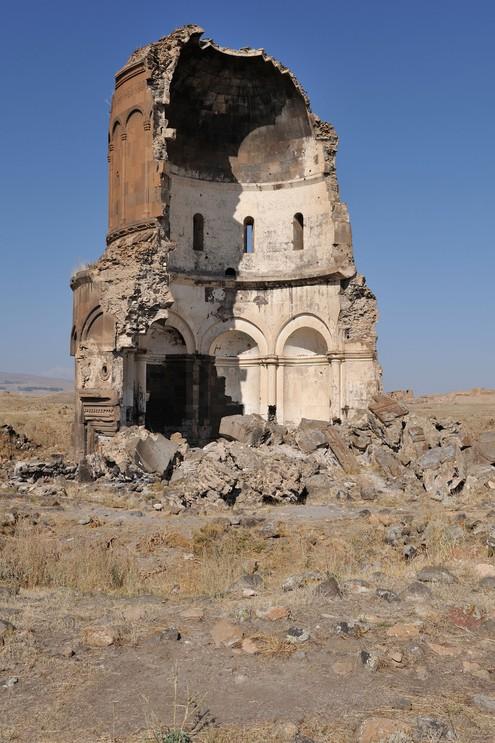 Church of the Redemer, Split by lightning in 1957, Ani, Turkey.