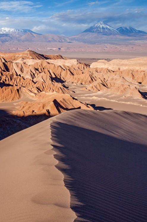 Duna Mayor in Valle de la Muerte (Valley of the Death), Atacama desert.