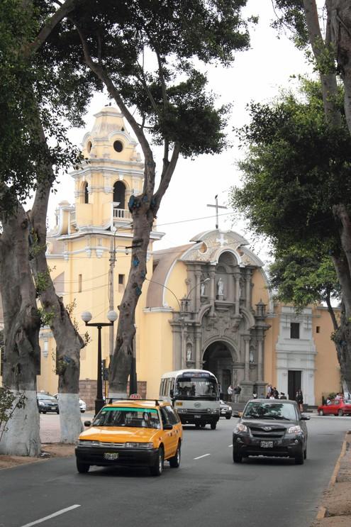 Iglesia la Santisima Cruz, Barranco, Peru.