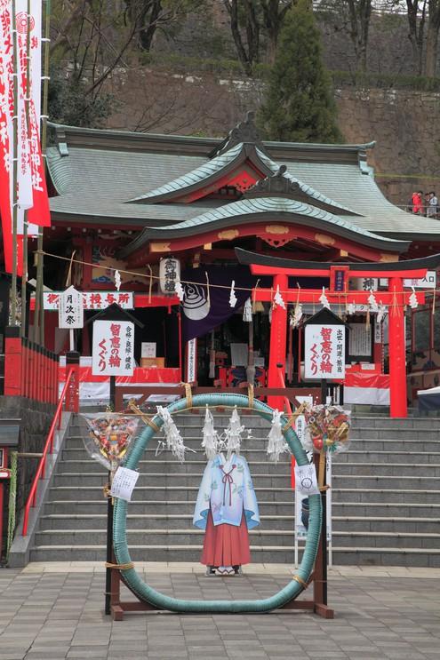 Kumamoto-jo Inarijinja, shinto sanctuary