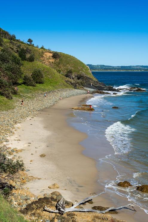 Little Wategos Beach, Cape Byron bay, New South Wales, Australia.