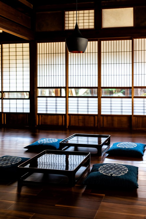 Traditional japanese ryokan