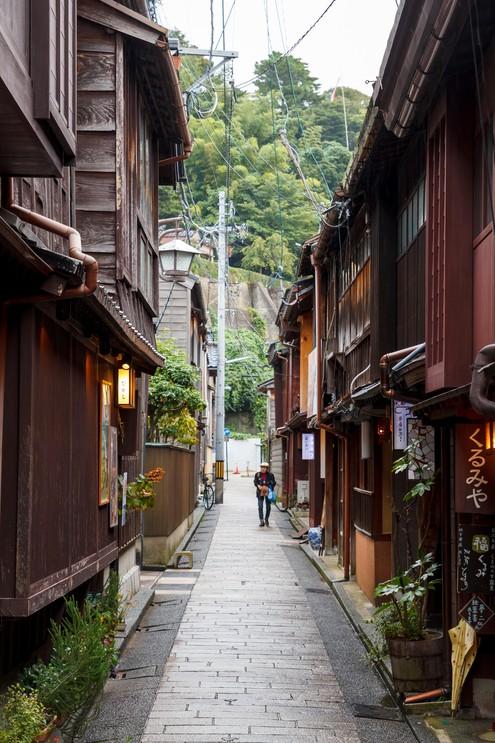 Higashi Chaya streets
