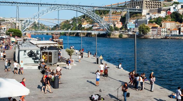 Ribeira and Dom Luis I Bridge