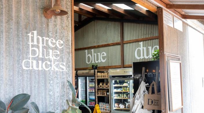 Three blue ducks restaurant at The Farm in Ewingsdale Byron Bay, Australia.