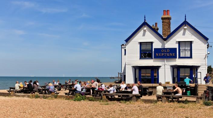 Old Neptune Pub, Whitstable, Kent.