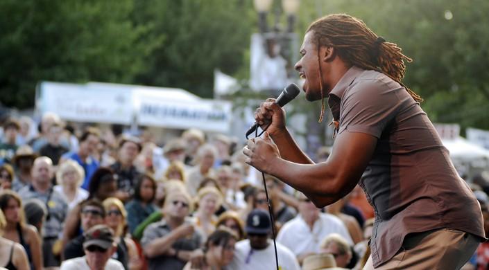Sharon Jones & The Dap Kings Perform At The Waterfront Blues Festival