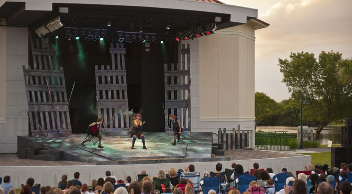 macbeth witches three_Courtesy of Palm Beach Shakespeare Festival