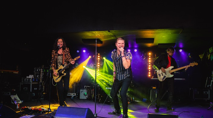 Bourbon Sugar perform live at KinoMaja Bar at Tallinn Music Week 2021