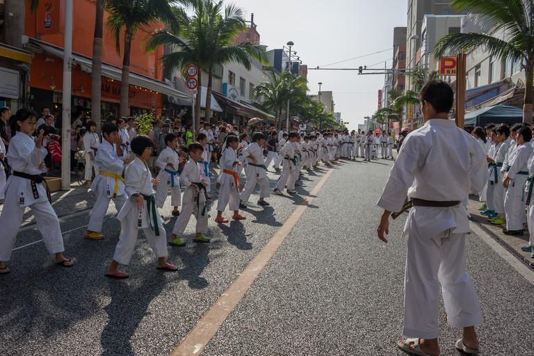 the historical origins of karate