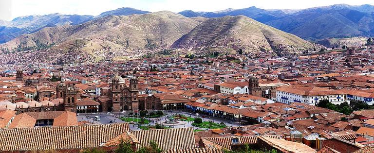Panorama of Cusco, Peru © Martin St-Amant/WikiCommons