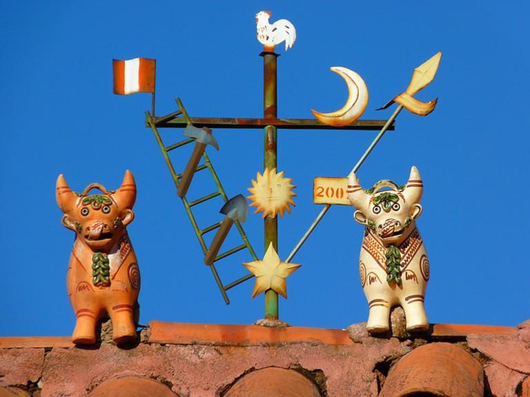 Cusco roof ornament © LoggaWiggler/pixabay