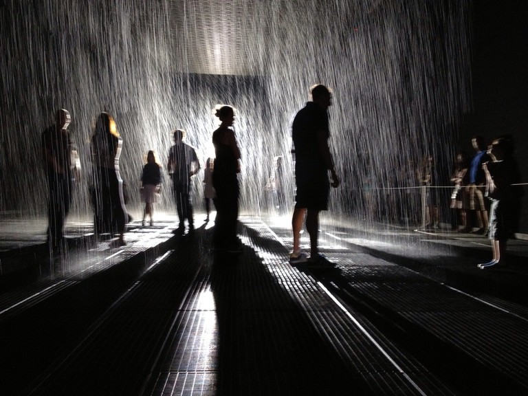 MoMA rain room, New York ©Stefano Ravalli