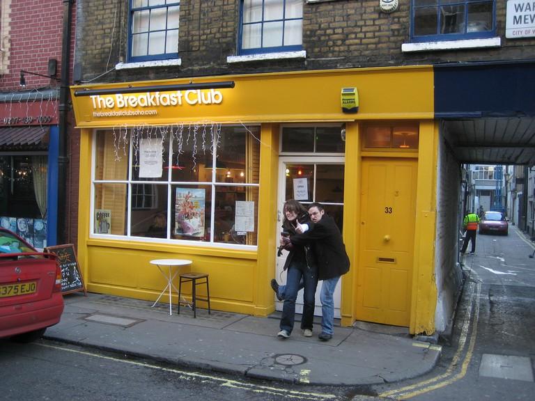 The Breakfast Club in Soho ©Nick Gray