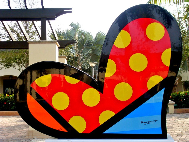 Romero Britto Midtown Miami © Bob B. Brown
