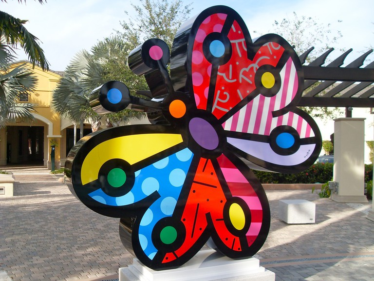 Romero Britto Midtown Miami © Bob B. Brown