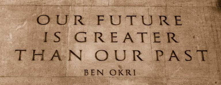 Quote of Ben Okri © Alessandro Lucia