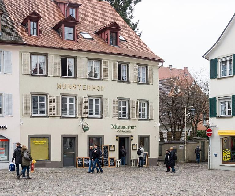 Restaurant Münsterhof ©Wikimedia Commons