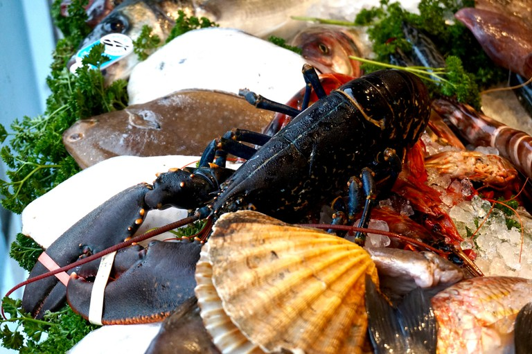 Freshly caught seafood   ©sofia dench/Flickr