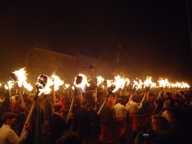 Up Helly Aa © Vicky Brock / Flickr