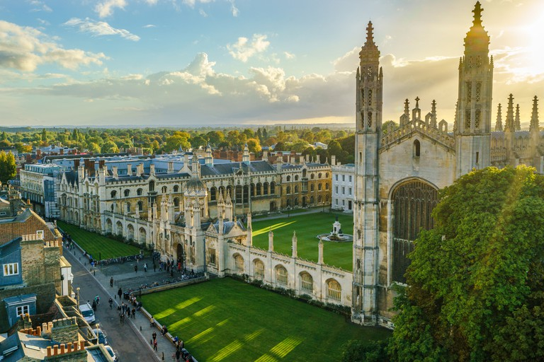 Overlooking King's College Chapel, has to be one of the best spots in the whole of Cambridge. ©Pawel Pajor / Shutterstock