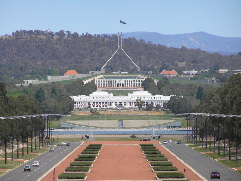 Old & New Parliament House, Canberra