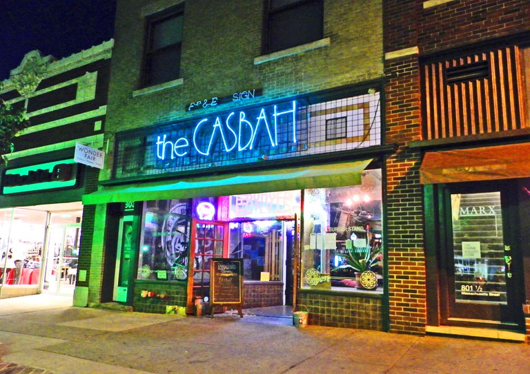 The Casbah: Lawrence, Kansas