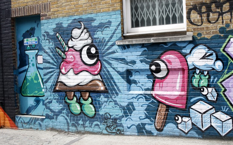 The streets of Shoreditch, East London| © dm-set/Flickr
