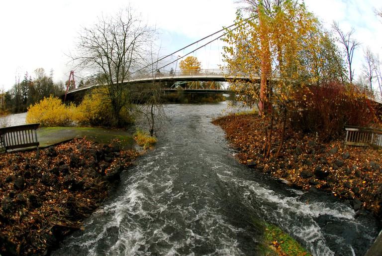 Alton Baker Park in Eugene, Oregon   © Don Hankins/Flickr