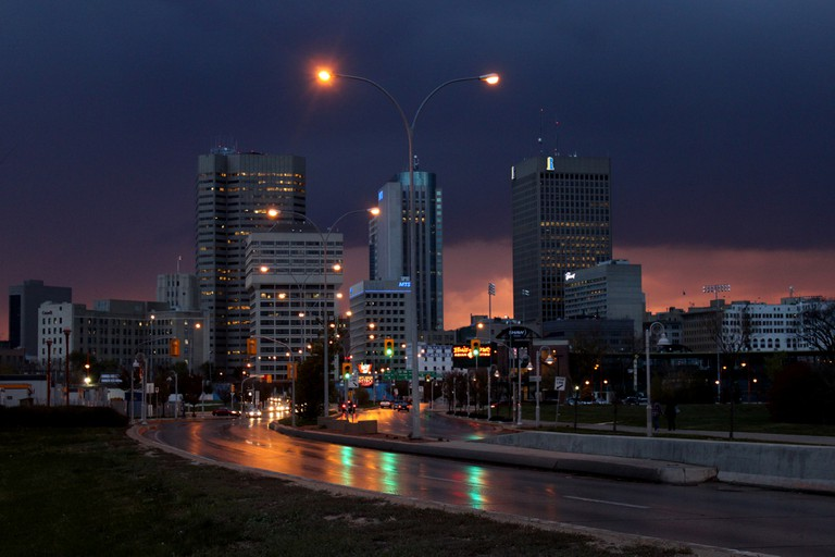 Downtown Winnipeg, Manitoba, Canada | © Robert Linsdell /Flickr