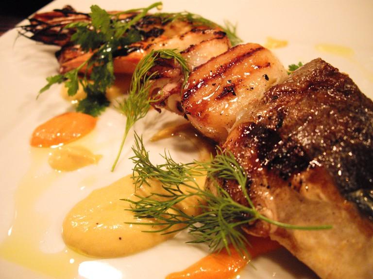 Grilled Seafood © Masaaki Komori