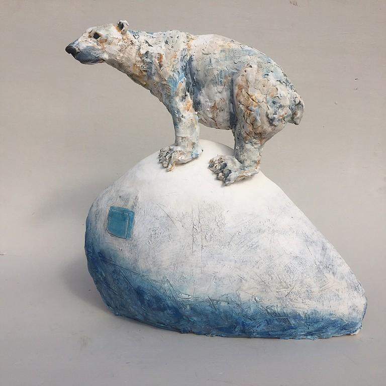 Polar Bear Sculpture ©Craft Centre and Design Gallery
