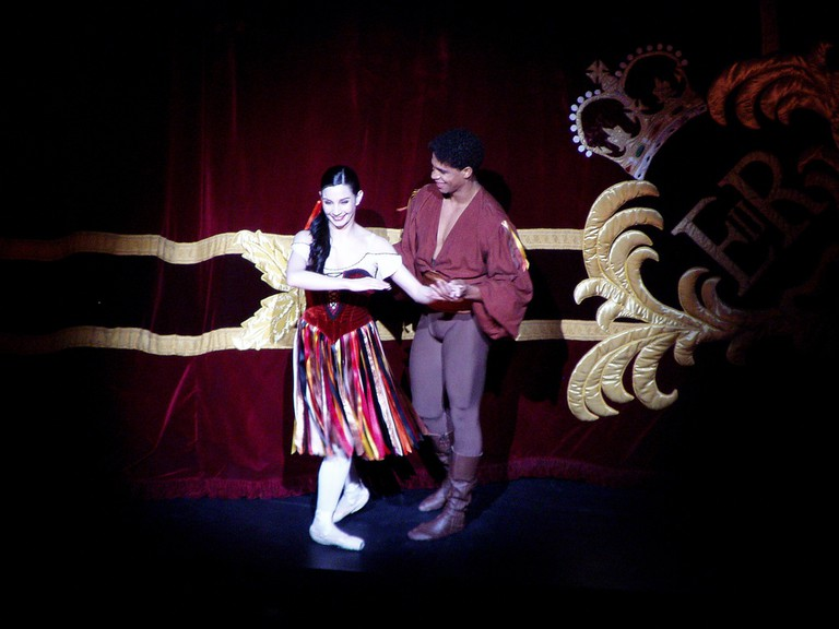 Tamara Rojo and Carlos Acosta in Tzigane