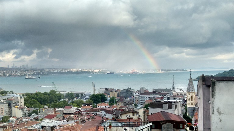 View over Kadiköy from Leb-i Derya, Galata  © Dave Lonsdale/Flickr