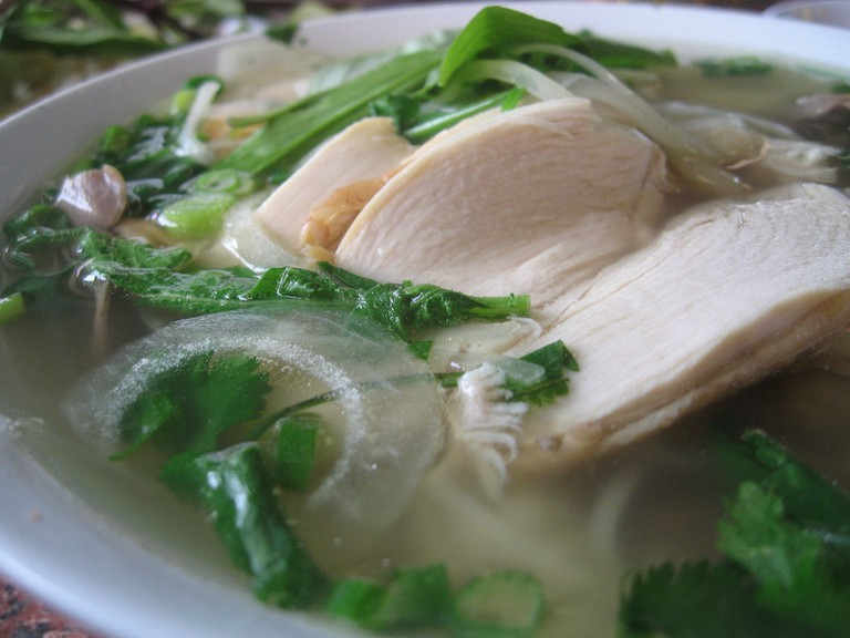 Chicken Noodle Soup - A popular dish at Napa and Company © Ron Dollete