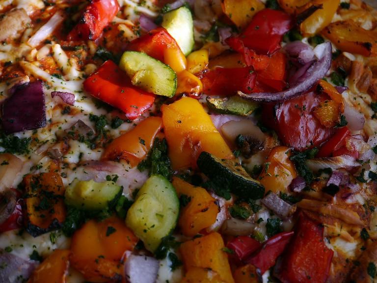 Vegetarian Pizza | ©Pixabay