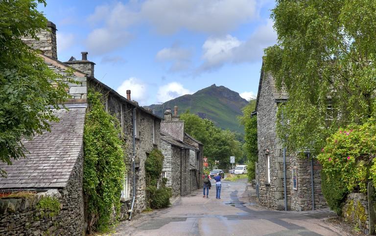 Grasmere village, the Lake District, Cumbria, England ©Andrew Roland / Shutterstock