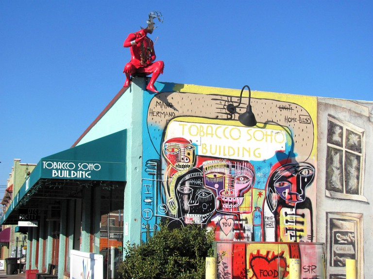Downtown Art district in Downtown Winston-Salem | © -ted/Flickr