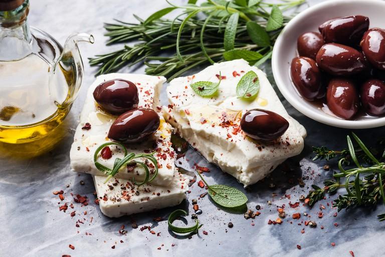 Mezze at the Garlic Farm Restaurant © Lisovskaya Natalia / Shutterstock