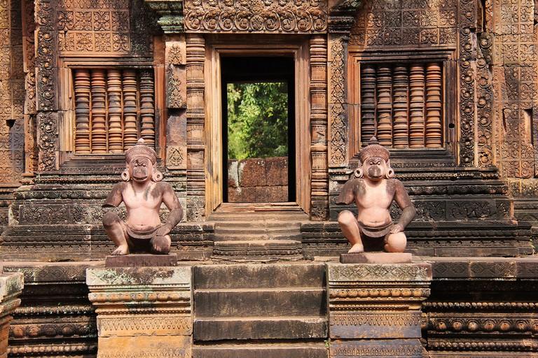 Banteay Srei, Angkor Wat