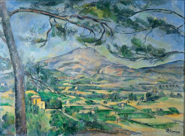 Mont Sainte-Victoire, Cezanne/WikiCommons